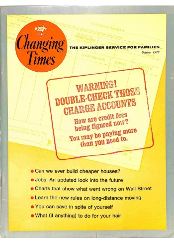 Changing Times, October 1970