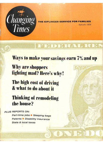 Changing Times, September 1970