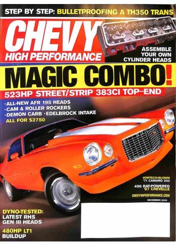 Chevy High Performance, December 2006