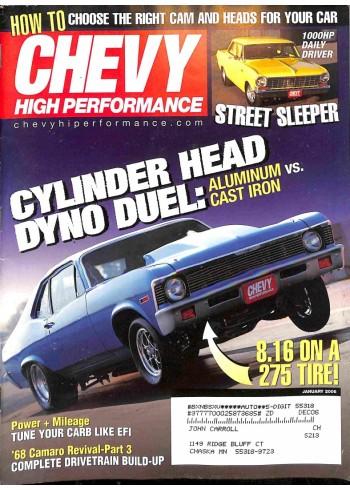 Chevy High Performance, January 2006