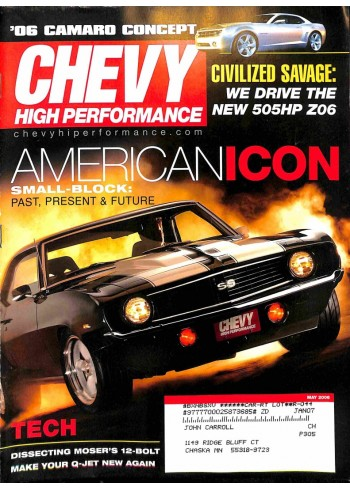 Chevy High Performance, May 2006