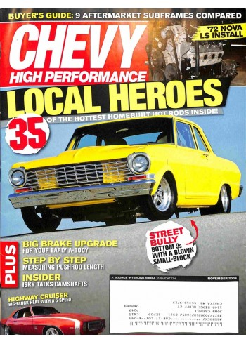 Chevy High Performance, November 2009