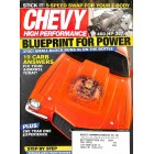 Cover Print of Chevy High Performance, October 2008
