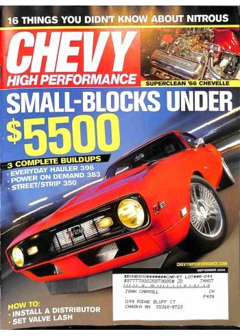 Chevy High Performance, September 2006