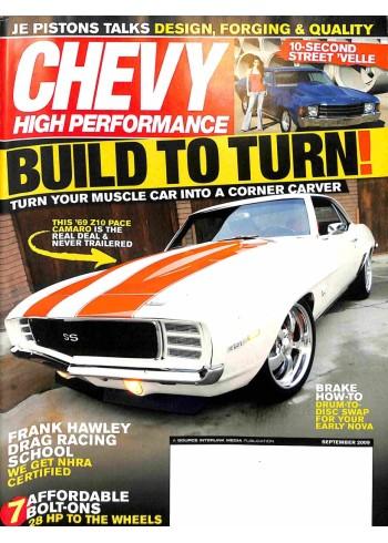 Chevy High Performance, September 2009