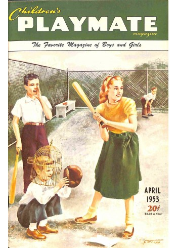 Children's Playmate, April 1953