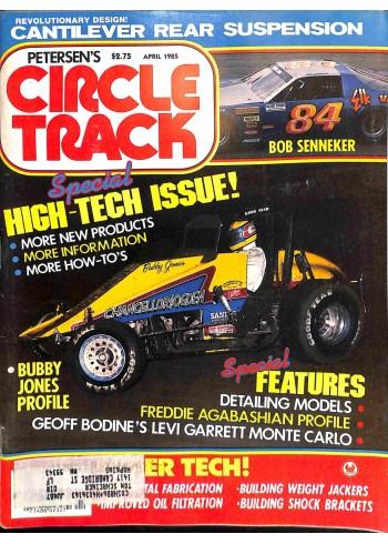 Circle Track, April 1985