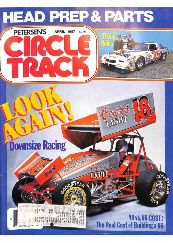 Circle Track, April 1987
