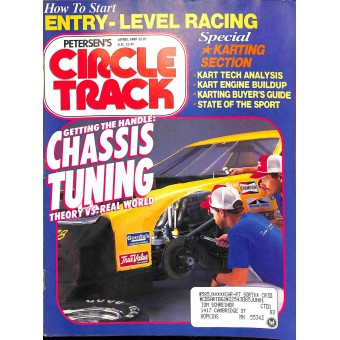 Cover Print of Circle Track, April 1989