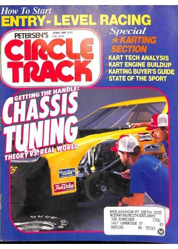 Circle Track, April 1989