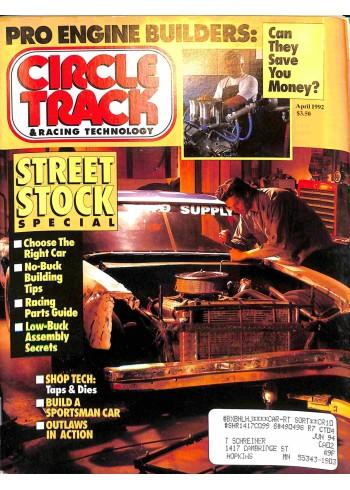 Circle Track, April 1992