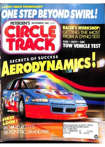 Circle Track, November 1987