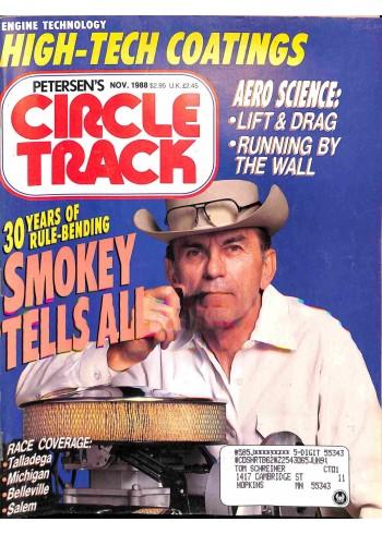 Circle Track, November 1988