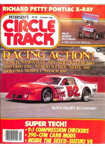 Circle Track, October 1983