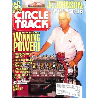 Circle Track, October 1991