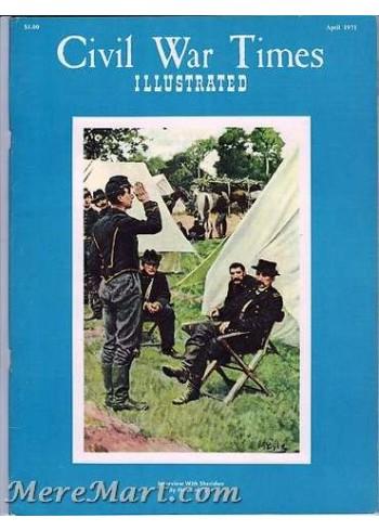 Civil War Times Illustrated, April 1971