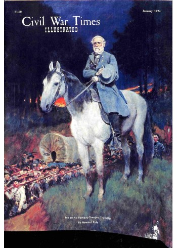 Cover Print of Civil War Times Illustrated, January 1974