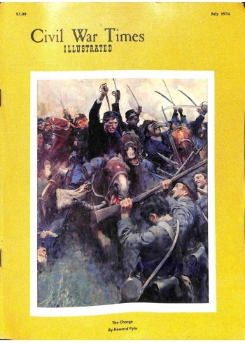 Cover Print of Civil War Times Illustrated, July 1974