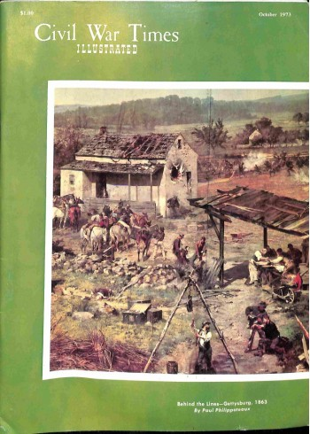 Cover Print of Civil War Times Illustrated, October 1973