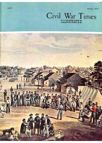 Cover Print of Civil War Times Illustrated, October 1975