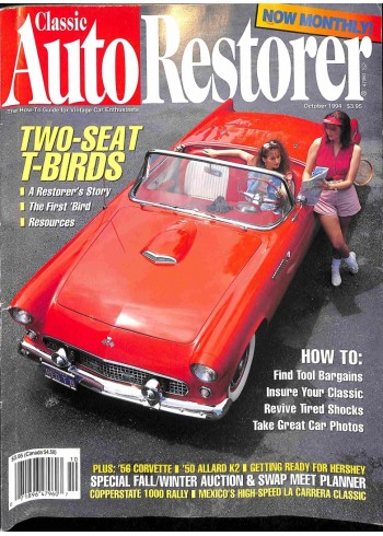 Classic AutoRestorer, October 1994