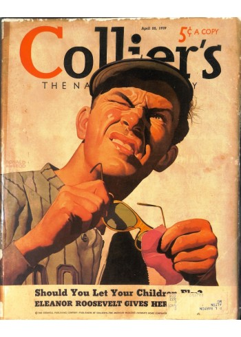 Cover Print of Colliers, April 22 1939