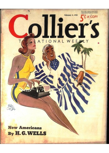 Cover Print of Colliers, February 5 1938