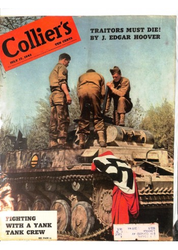 Cover Print of Colliers, July 17 1943
