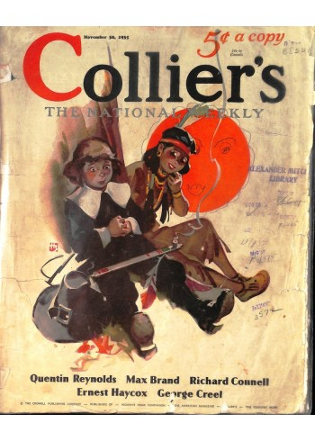 Cover Print of Colliers, November 30 1935