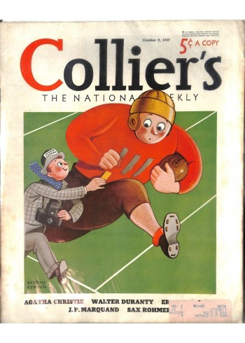 Cover Print of Colliers, October 9 1937
