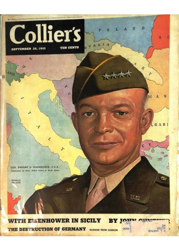 Cover Print of Colliers, September 25 1943
