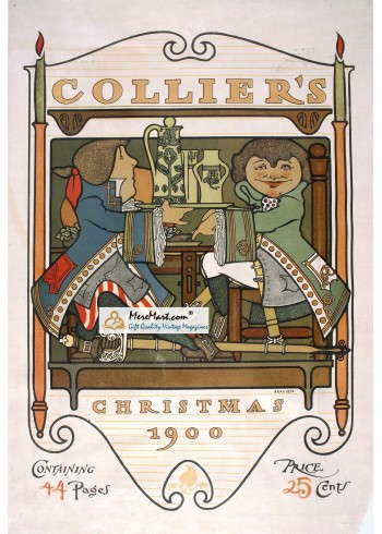Colliers, December, 1900. Poster Print. Bradley.