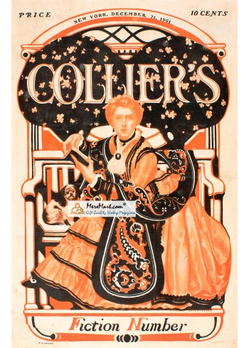Colliers, December 21, 1901. Poster Print.