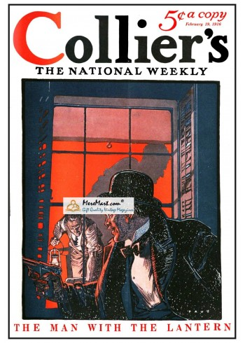 Colliers, February 19, 1916. Poster Print.