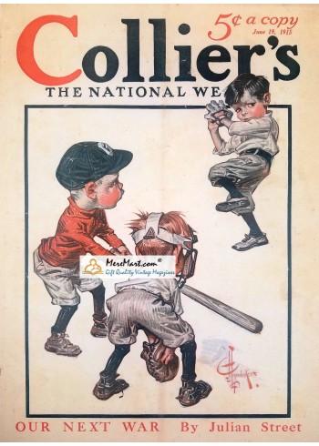 Colliers, June 19, 1915. Poster Print. Leyendecker.