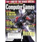 Cover Print of Computer Games, April 2007