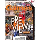Cover Print of Computer Games, August 2001