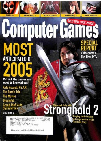 Cover Print of Computer Games, February 2005