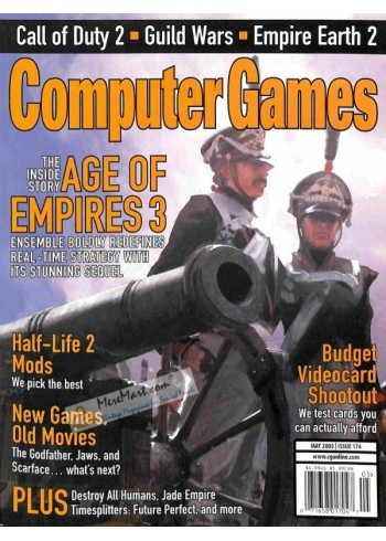 Cover Print of Computer Games, May 2005