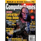 Cover Print of Computer Games, November 2006