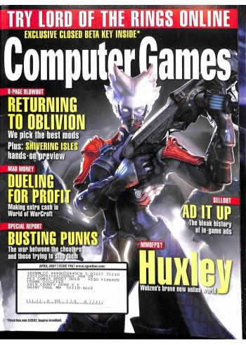 Computer Games, April 2007