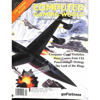 Cover Print of Computer Gaming World, April 1991