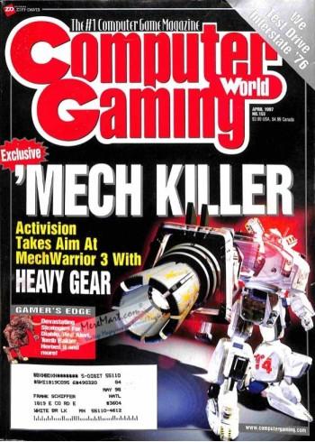 Computer Gaming World, April 1997