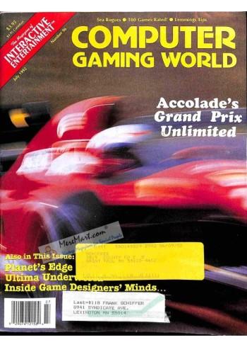 Computer Gaming World, July 1992