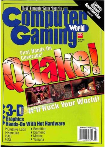 Computer Gaming World, July 1996