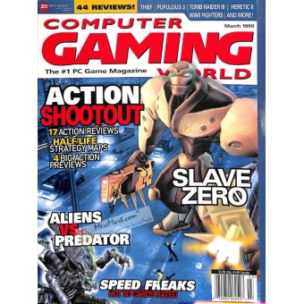 Cover Print of Computer Gaming World, March 1999