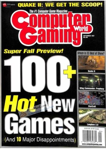 Computer Gaming World, September 1997