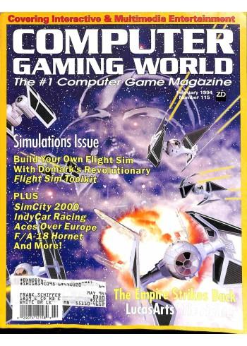 Computer Gaming World, February 1994