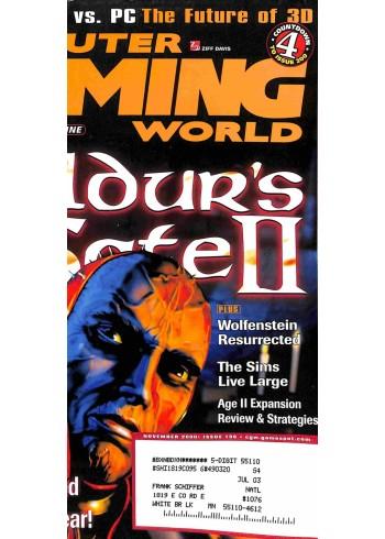 Computer Gaming World, November 2000