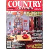 Cover Print of Country Accents, Winter 1986